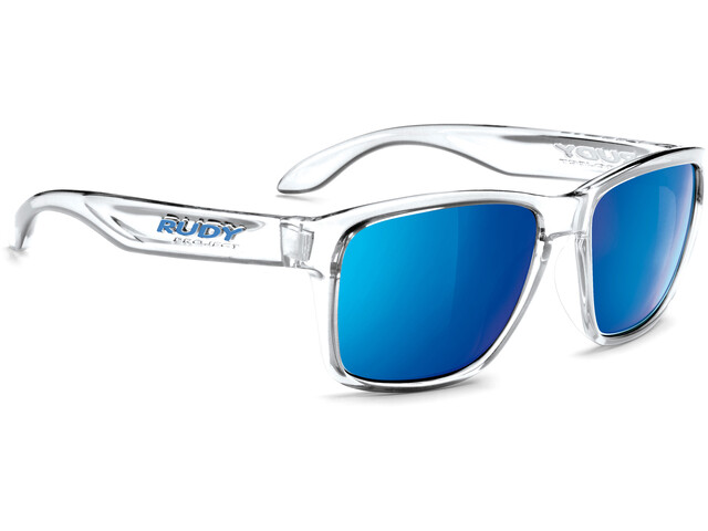 Rudy Project Spinhawk Glasses Crystal Gloss/Multilaser Blue